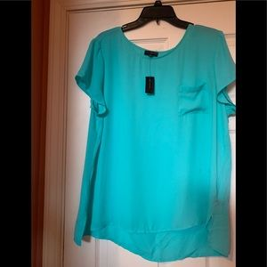 New with tags blue top